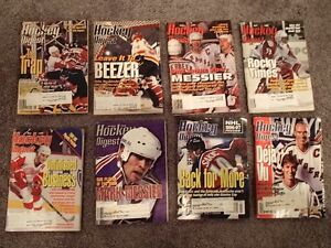 Hockey Digest Magazines 1996