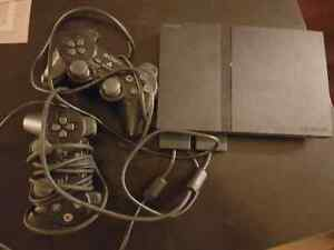 Playstation2 with two controllers