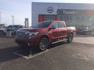 2017 Nissan Titan Platinum HUGE SAVINGS!!