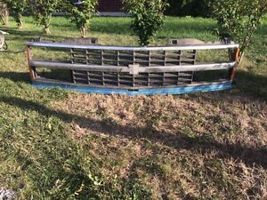 Chevy truck grill