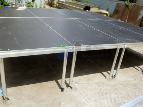 Portable, platform 4 x 8 Stage Decking. All 8 sections = $3250. CAN SHIP for $.