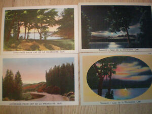 Cartes postales anciennes (vers 1930) Cap-de-la-Madelaine
