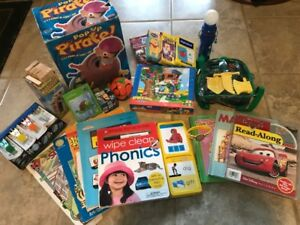 Toy package for approximately 2-4 year old Includes: $20