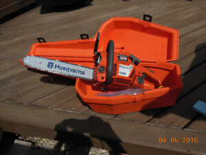 Husqvarna Chainsaw with case