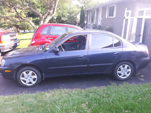 Must Go! 2006 Hyandai Elantra For Parts and Tires