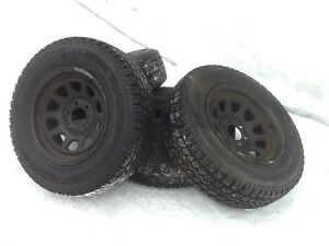 Studded Envoy/Trailblazer Tires and Rims