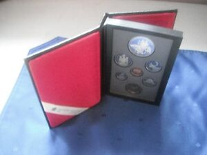 Coins - 1990 Double Dollar Proof Set in Original Case