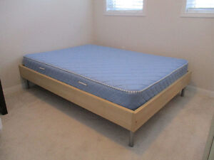 Double bed + Matttress & Cover