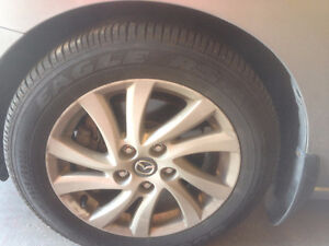 Set of 4 GoodYear tires 205/55/16 (Rims not Included)