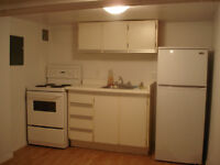 Bachelor in the basement for rent- Rideau St.- $700