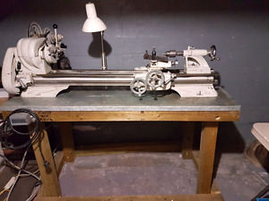 Th54 -10F metal lathe and accessories