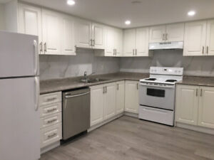 Be The 1st One to Live in This Beautifully Remodeled Bsmt Apt