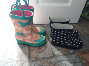 Toddler Girls rubber boots