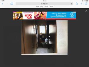 Armoire et ou porte de salle de bain + de cuisine + meuble tv ++