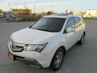2009 Acura  MDX, AWD, Leather, Sunroof, Up to 3 years warranty.