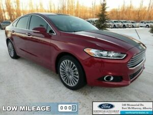 2015 Ford Fusion Titanium|Nav|Rem Start|Heated  Cooled Seats|Act