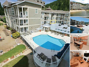 Lakefront pool walkout condo on Mara Lake!