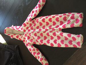 Snug as a bug- girls outdoor onesie