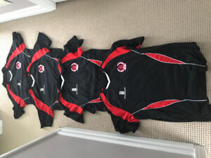 Match worn game worn Clyde FC shirts