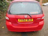 2002 Honda Jazz 1.4i DSI SE 5dr 5 door Hatchback
