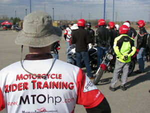 Motorcycle Rider Training Course - LAST COURSE OF THE SEASON!