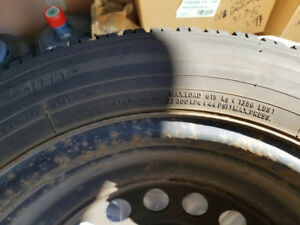 4 Tires With Rims - $200 for all 4 incl. rims.