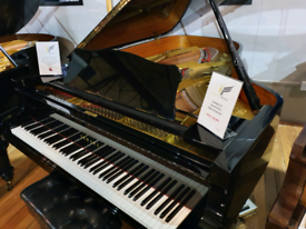 Yamaha C6 grand piano black polyester for sale