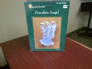 Traditions Porcelain Angel  New in Box