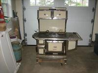 "Antique ""Iron Duke"" Enterprise wood stove"