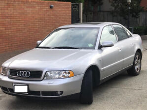 AUDI A4 2001 FOR SALE. ONLY 109.000KMS!