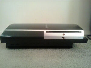 Complete PS3 console.