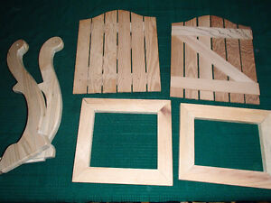 Craft Painting Supplies - Wooden