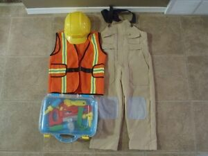 4-6 Years Construction Worker Costume