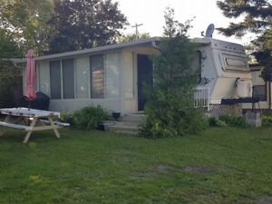 Park Trailer With Sunroom At Elim Lodge In The Kawarthas