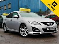 2012 MAZDA 6 2.2 TAKUYA D 163 BHP! P/X WELCOME! 2 OWNERS! HEATED LEATHER! AUX!