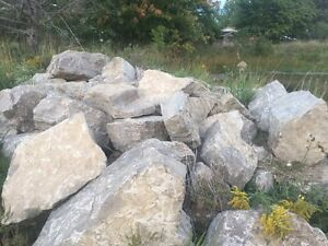 Landscaping rock over 100 pieces $1500 Cambridge Kitchener Area image 1