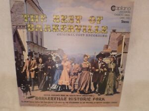 LP RECORD  THE BEST OF BARKERVILLE