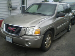 2002 GMC ENVOY SLT SUV, LOADED & CERTIFIED.-$2000