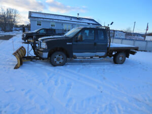 2007 Ford F250 with PLOW