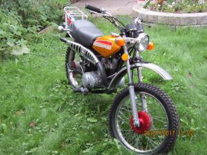 1975 Suzuki TC185 Ranger