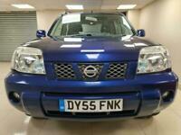 Nissan X-Trail 2.2 dCi Sport Blue SUV 4X4 Sat Nav DIESEL WARRANTY 12 MONTHS MOT