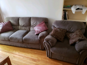 Sofa and Chair  - Mint Condition