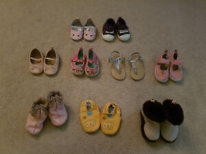 Lot of baby shoes size 1 - 4