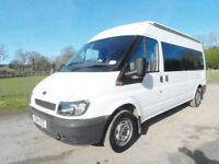 Ford Transit Camper - 3 travel seats - End Kitchen Bathroom