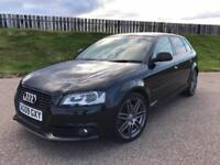 2009 AUDI A3 SPECIAL EDITION S-LINE 2.0 TFSI 197PS - 62K MILES - F.S.H - EXCELLENT SPEC - STUNNING