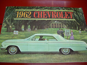 1962 Chevrolet sales brochure