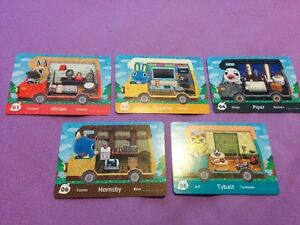 Selling Animal Crossing Amiibo cards S2, S3 & S4 + WelcomeAmiibo