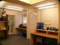 Spacious Offices and Storage-Parking Yard: Suit Small Trades, Artists, Printers or Natural Therapies