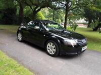 2005 Audi TT Coupe 1.8 ( 180bhp ) Black FSH £2595
