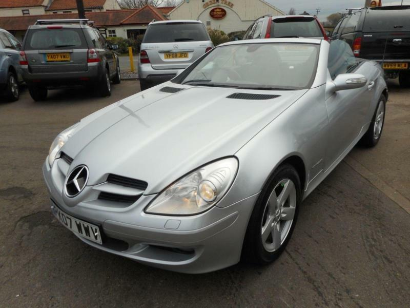 2007 mercedes benz slk slk 200k in hatfield south yorkshire gumtree. Black Bedroom Furniture Sets. Home Design Ideas